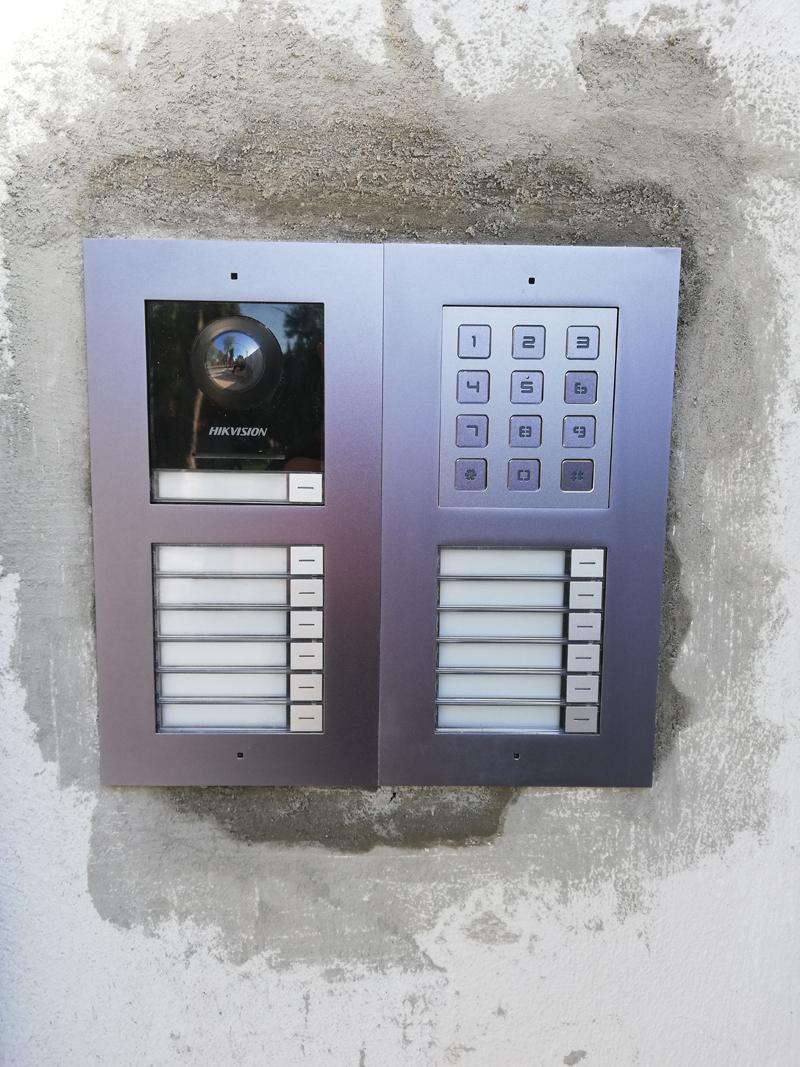 ip video door & access hikvision 2